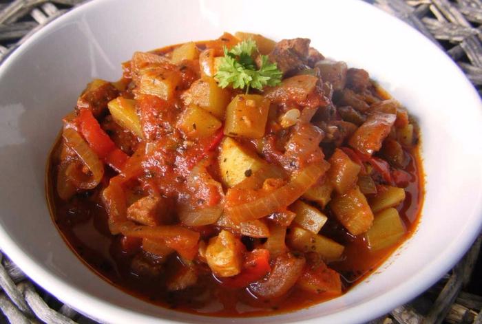 Жаркое мясом рецепт фото
