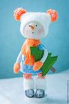 Превью снеговик игрушка СЃРІРѕРёРјРё руками 1 (466x700, 192Kb)