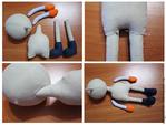Превью снеговик игрушка СЃРІРѕРёРјРё руками 4 (700x530, 301Kb)