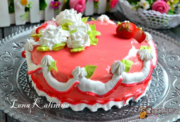 recipes9983 торт клубника со сливками (700x473, 407Kb)