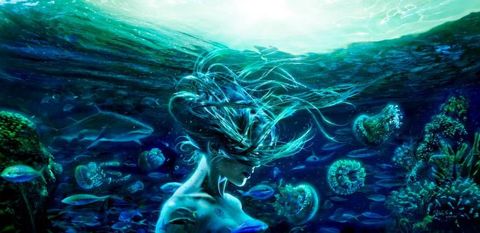 Стихия Вода. Стихийная магия. Обряды и ритуалы. Путь Ведьмы Воды. 132429055_0qme_id6cEQ