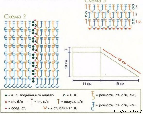 Уютные тапочки крючком (3) (590x469, 133Kb)