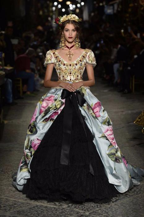 новая коллекция от кутюр Dolce & Gabbana 10 (466x700, 287Kb)