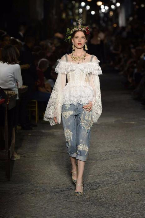 новая коллекция от кутюр Dolce & Gabbana 17 (466x700, 276Kb)