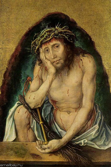 Ecce Homo (Сын человеческий). Около 1495, Кунстхалле, Карлсруэ (466x700, 124Kb)