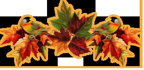 раздел-осен листья птицы (297x145, 59Kb)