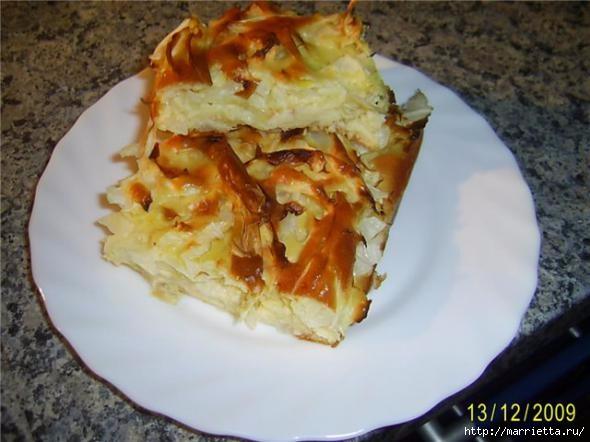 Пирог с капустой. Рецепт (1) (590x442, 126Kb)