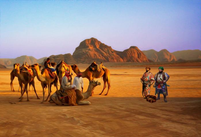 торговый караван из Багдада
