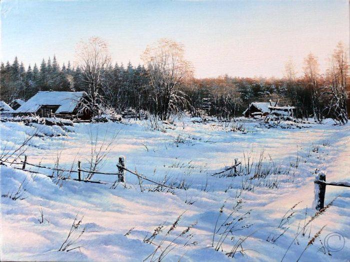 Творчество современного художника Олега Соколовского