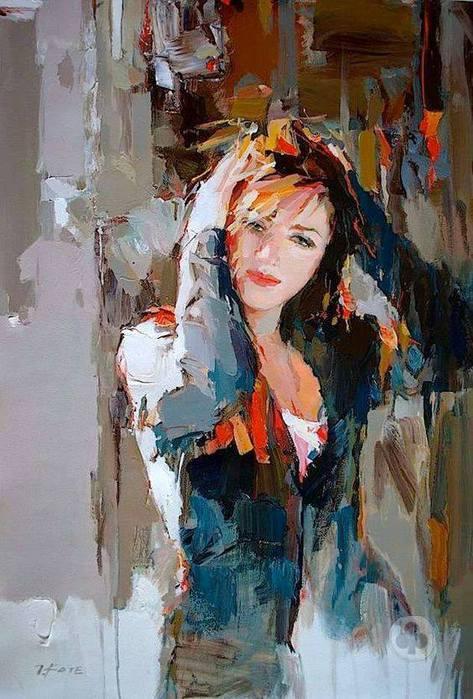 Josef Kote Albanian Painter. (473x700, 67Kb)