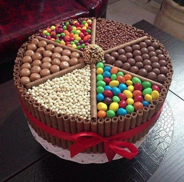 Красивые торты своими руками с днем рождения 524