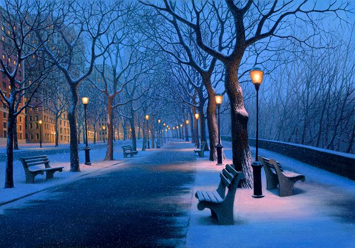 Image result for зимний город