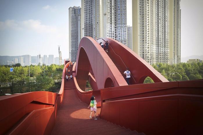 необычный мост в китае Lucky Knot 3 (700x467, 305Kb)