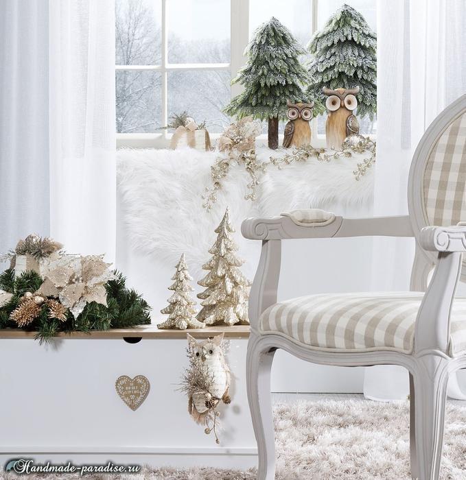 Рождественский дизайн интерьера. 20 фото (11) (679x700, 286Kb)