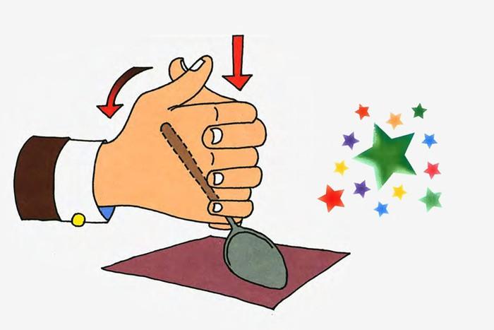 Фокусы магические иллюзии: Гнущаяся ложка
