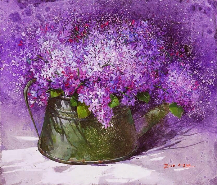 Художник из Кореи Yi Seong-bu8- (700x595, 573Kb)