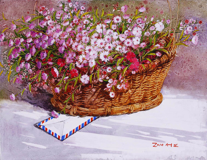 Художник из Кореи Yi Seong-bu12 (700x539, 593Kb)