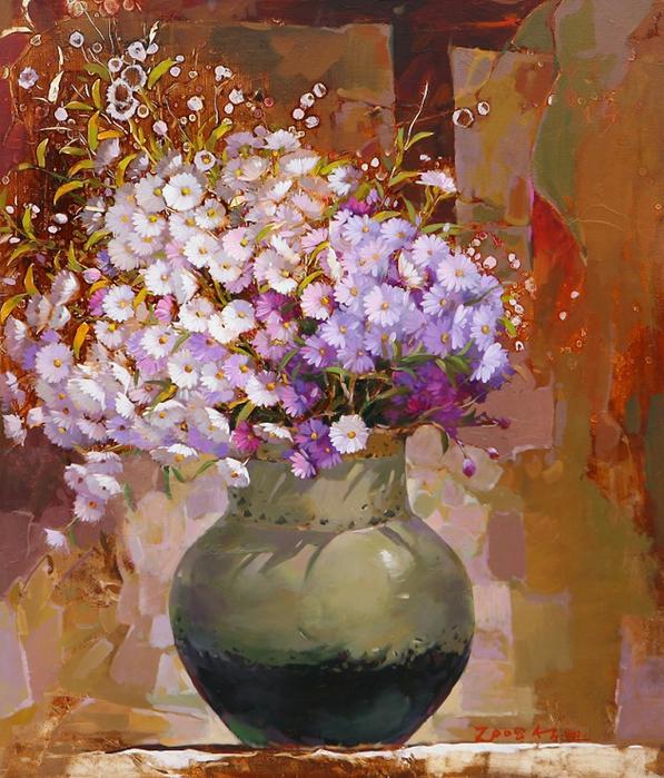 Художник из Кореи Yi Seong-bu17 (597x700, 552Kb)