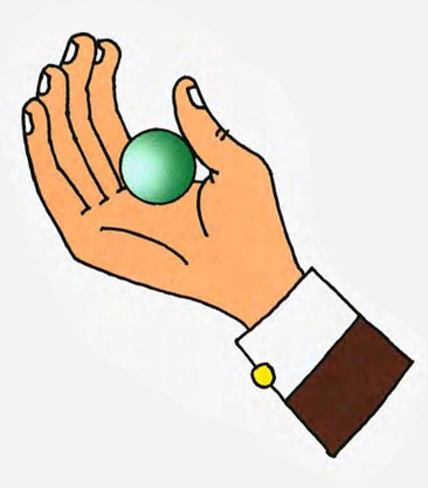 Фокус покус! Исчезновение мяча для настольного тенниса
