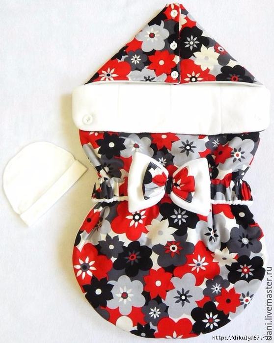 Конверты для новорожденных зима своими руками