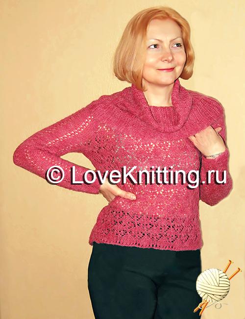 01 Ажурный пуловер_1_1 МТ2 (500x651, 318Kb)