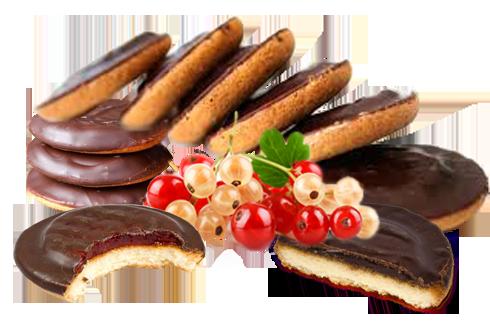 Бисквитное печенье с мармеладом (490x322, 218Kb)