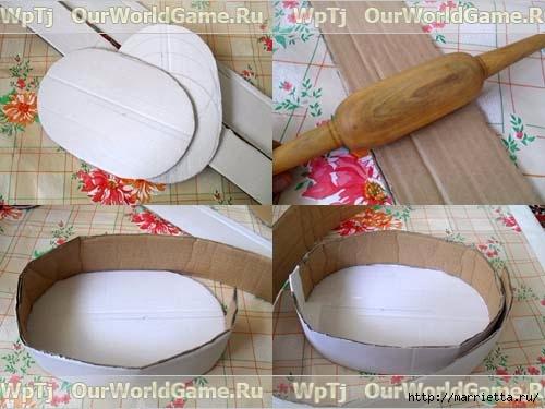 Изготовление подарочных корзин своими руками