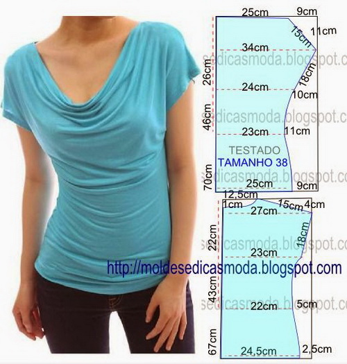 блуза (500x525, 96Kb)