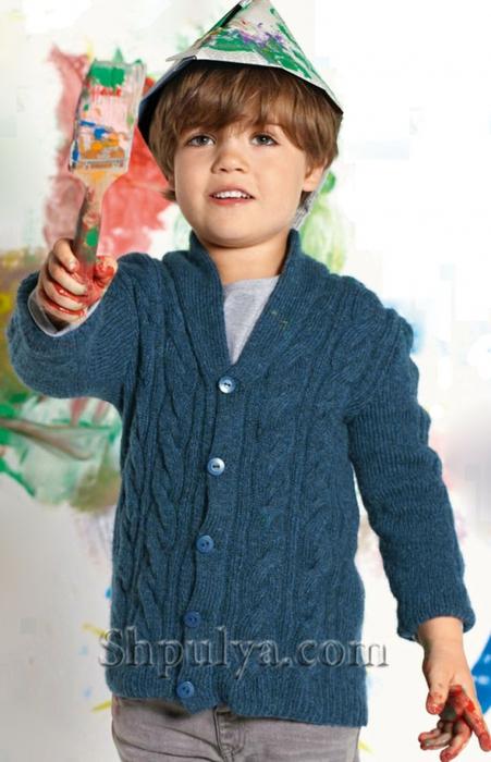 Синий жакет для мальчика спицами, жакет для мальчика спицами описание+схема, жакет с косами для мальчика, детская кофта спицами схема, вязание спицами для детей с описанием, вяжем детям, сайт о вязании, купить пряжу, интернет магазин пряжи,/5557795_1596_1 (451x700, 218Kb)