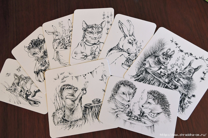 открытки ЧАЕПИТИЕ от Shraddha, shraddhaart (2) (700x466, 308Kb)