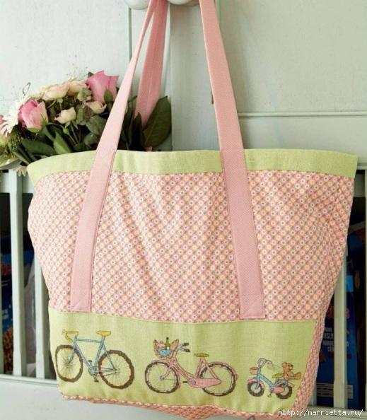 Вышиваем велосипед. Идеи со схемами (6) (519x594, 219Kb)