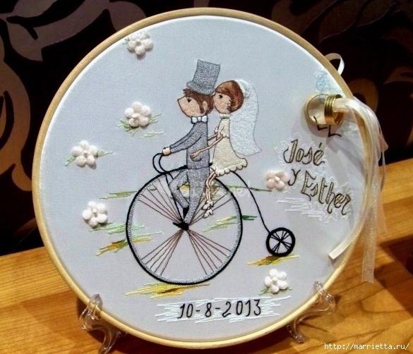 Вышиваем велосипед. Идеи со схемами (22) (585x502, 206Kb)