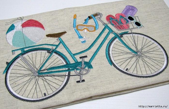 Вышиваем велосипед. Идеи со схемами (35) (700x451, 324Kb)