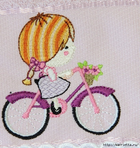 Вышиваем велосипед. Идеи со схемами (53) (477x504, 243Kb)