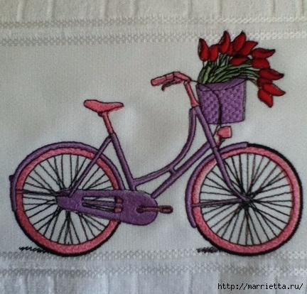 Вышиваем велосипед. Идеи со схемами (59) (432x414, 136Kb)