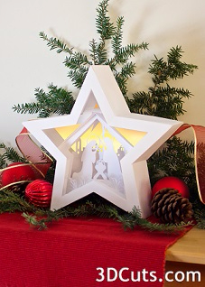 2Star Nativity by 3dcuts (1) (227x318, 98Kb)