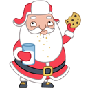 Santa Stickers/2493280_santacookiesicon (128x128, 18Kb)