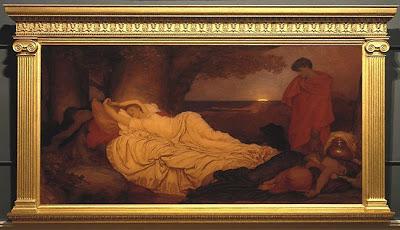 Frederic Leighton, Cymon and Iphigenia, 1884 (400x230, 37Kb)