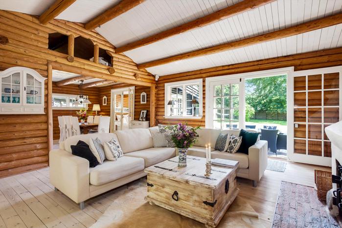бревенчатый дом фото 5 (700x466, 430Kb)