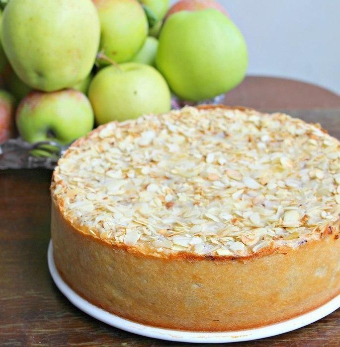 """alt=""""Яблочно-творожный пирог с шоколадом. """"/2835299_7 (684x700, 85Kb)"""