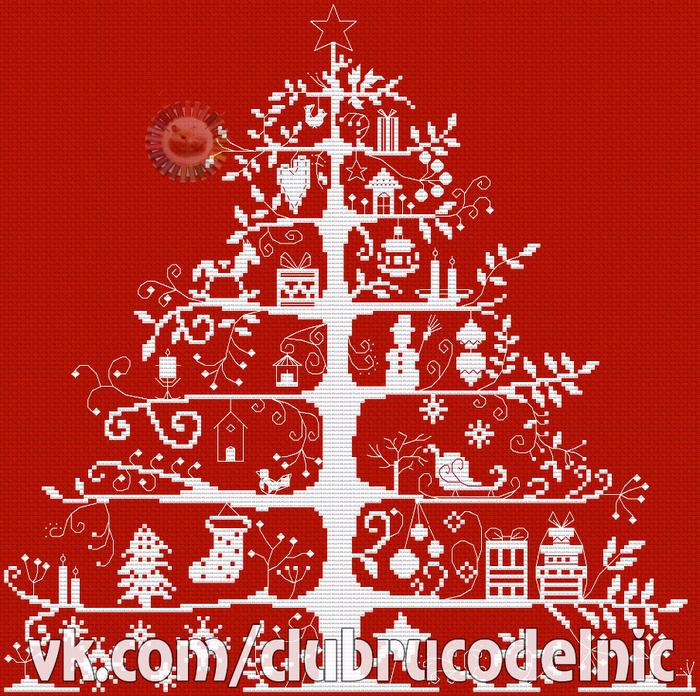 L'arbre aux cadeaux (700x696, 887Kb)
