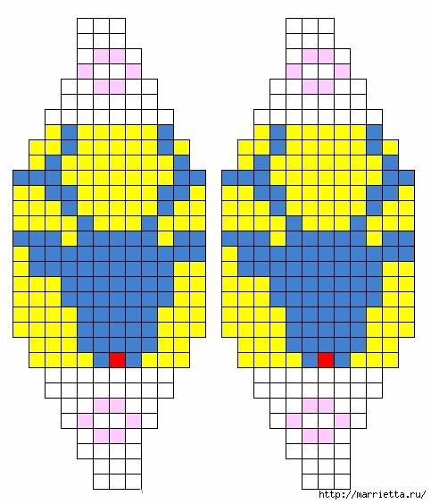 Елочные игрушки спицами. Схемы вязания (7) (483x564, 149Kb)