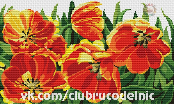 Tulips pillow (700x419, 508Kb)