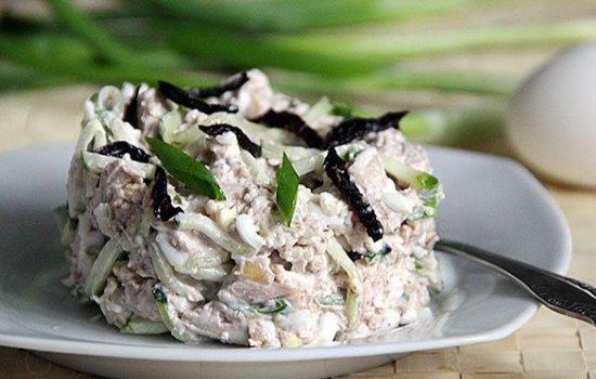 курица фасоль салаты рецепты с фото простые и вкусные