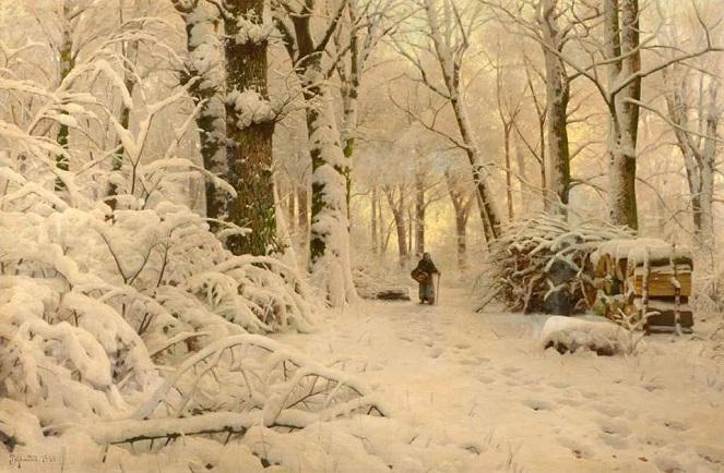 Neve na vegetação rasteira. 1916 (663x434, 296Kb)