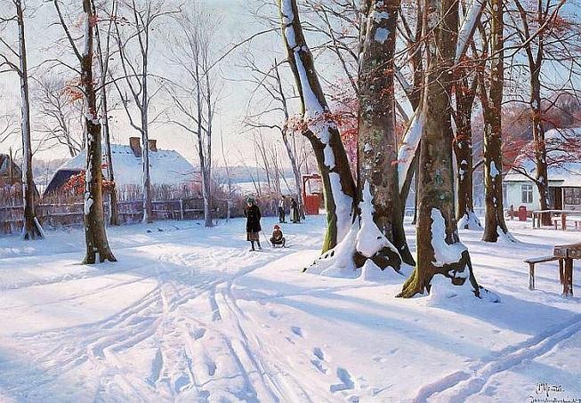 Paisagem de inverno. 1927 (653x453, 430Kb)