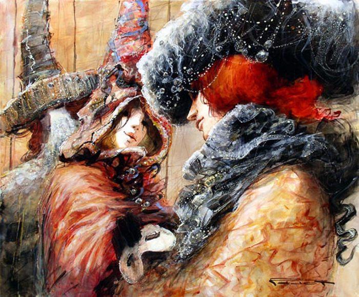 Марсель Нино Пажо картины 12 (700x580, 460Kb)