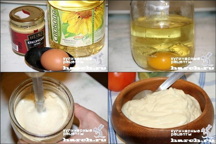 Майонез домашний рецепт с фото пошагово