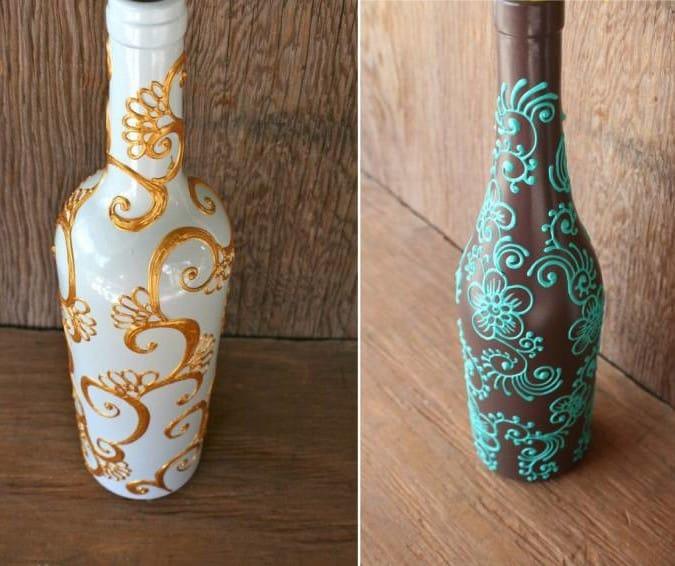 Роспись по бутылкам