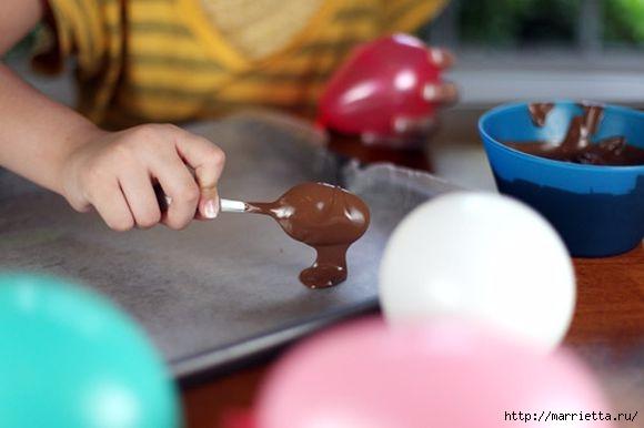 Вазочки из шоколада для сладких десертов (1) (580x386, 86Kb)
